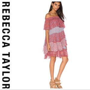 💕SALE💕 Rebecca Taylor Amanda Silk Dress